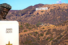 Griffith Park och Hollywood skylten